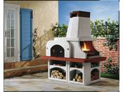 "Barbecue en pierre ""Parenzo"" - 192 x 112 x 211 (H) cm"