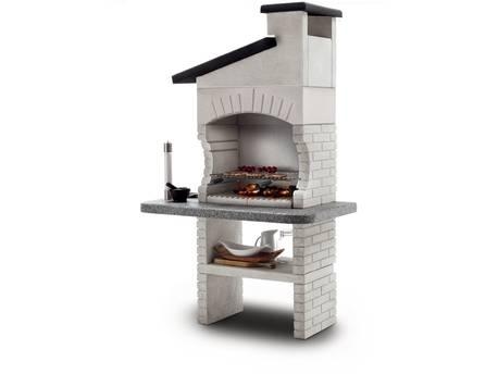 """Barbecue en pierre Palazzetti """"Guanaco 2"""" - 128 x 71 x 204 (H) cm"""