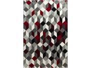 """Tapis """"GALA 390"""" - 80 x 150 cm - Rouge"""