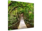 """Impression photo sur verre """"Forêt 2"""" - 30 x 30 cm"""