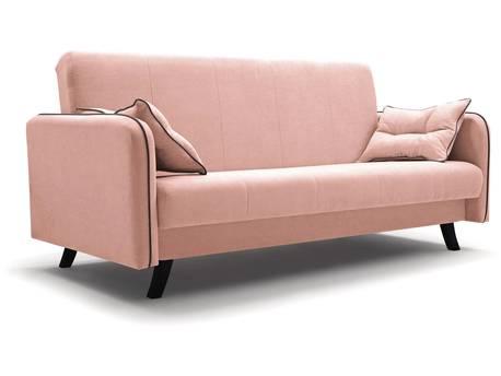 """Canapé clic-clac """"PRIMO"""" - 206 x 100 x 107 cm - Rose"""