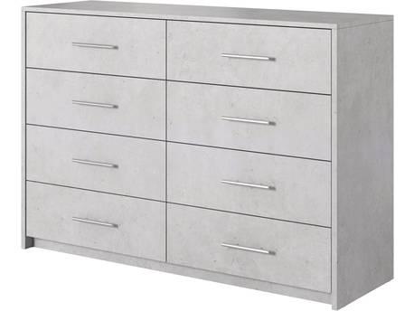"Commode ""Aurelia"" - 130 x 89 x 40 cm - Blanc"
