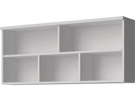 """Etagère suspendue """" Smyk """" - 120 x 193 x 50 cm - Blanc"""