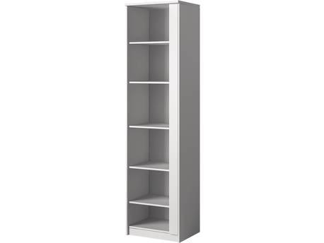 """Bibliothèque """"Symk"""" - 50 x 193 x 30 cm - Blanc"""