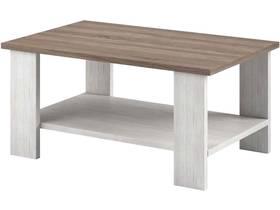 "Table basse ""Newada"" - 110 x 45 x 68 cm - Chêne blanc"