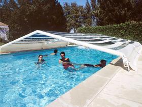 Piscine hors sol for Fabriquer un enrouleur piscine