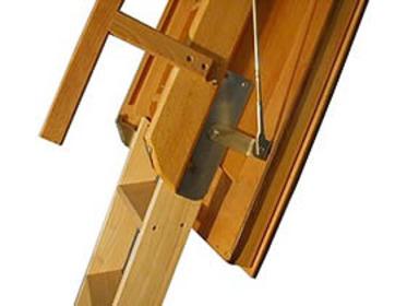 """Escalier escamotable bois """"Escamatic Standard Isolé"""""""