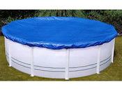 Bâche 4 saisons pour piscine ovale  5,50 x 3,70 m
