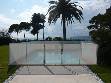 """Barrière souple à filet pour piscine """"Beethoven Prestige"""""""