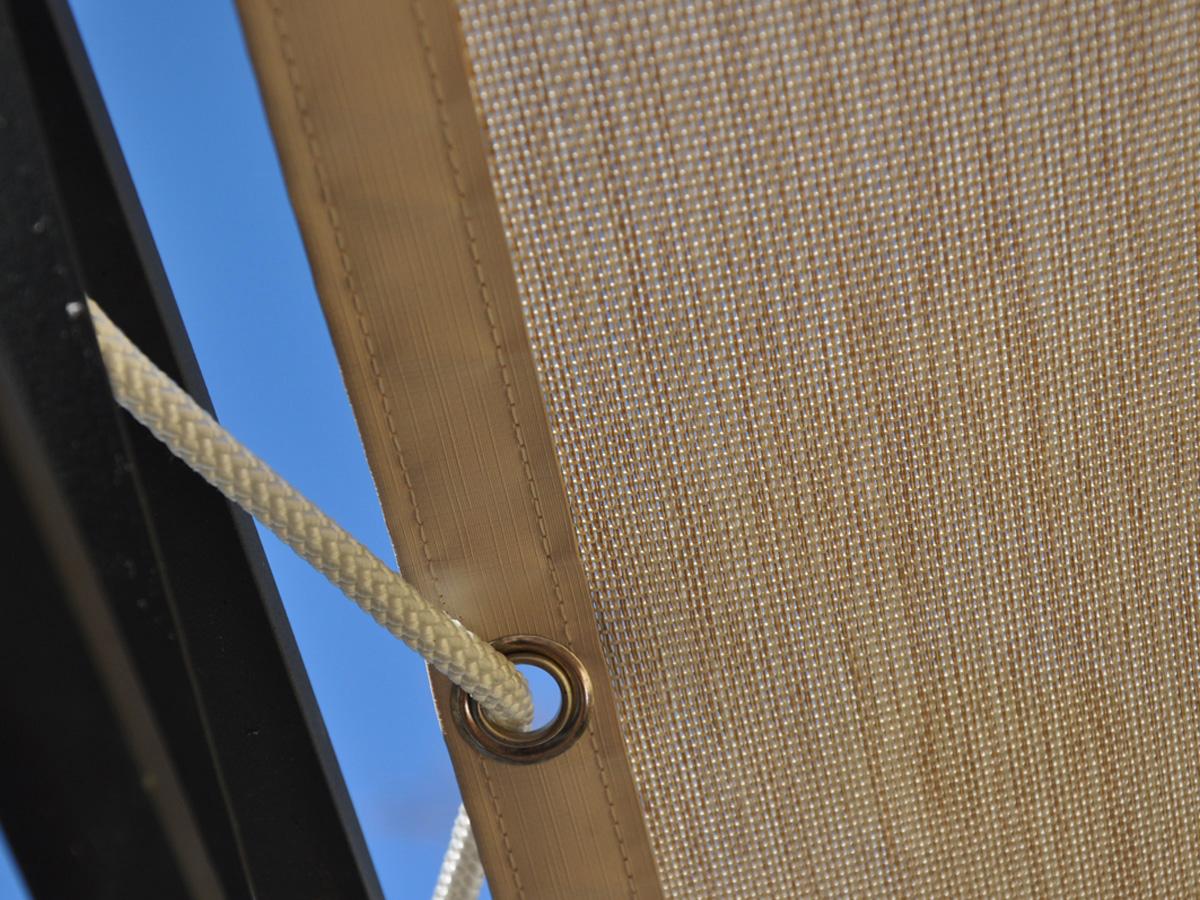 Eclairage Solaire Pour Tonnelle bâche solaire pour pergola 80523