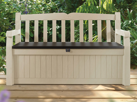 "Banc de jardin coffre ""Garden Bench"" - 1.40 X 0.60 X 0.84 m"