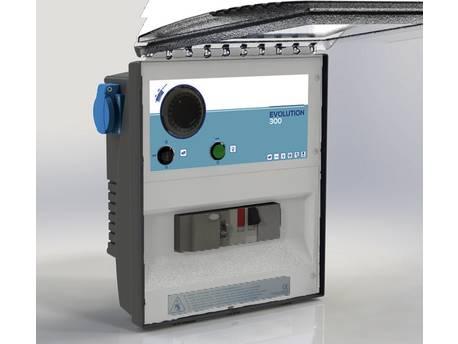 """Coffret électrique de filtration """"Evolution"""" - 300 VA - Disjoncteur 4/6 A"""