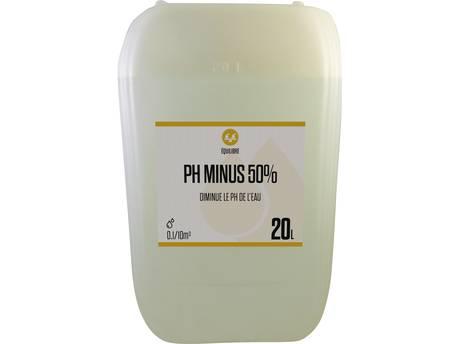 """Dosage piscine """"pH Minus Liquide 50%"""""""