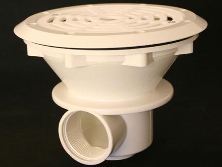 Filtration piscine - Bonde de fond liner - Débit max. recommandé 13 m3/h