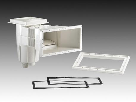 Filtration piscine - Skimmer standard 15 litres - Débit recommandé 5 m/h3