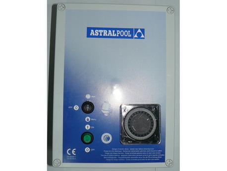 Filtration piscine - Coffret électrique pour brancher une pompe et 2 projecteurs