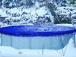 Bâche hivernale ronde - Ø 3 m