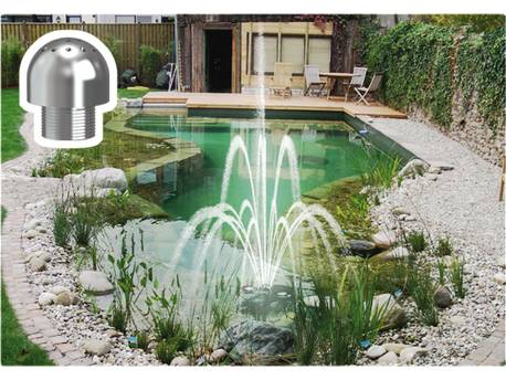 "Fontaine lumineuse ""Plug & Play - Effet Versailles"" - Pour bassin d"