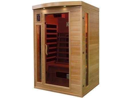 Cabine de sauna à infrarouges