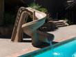 "Jeux piscine - Toboggan ""Helix"" - Sable"