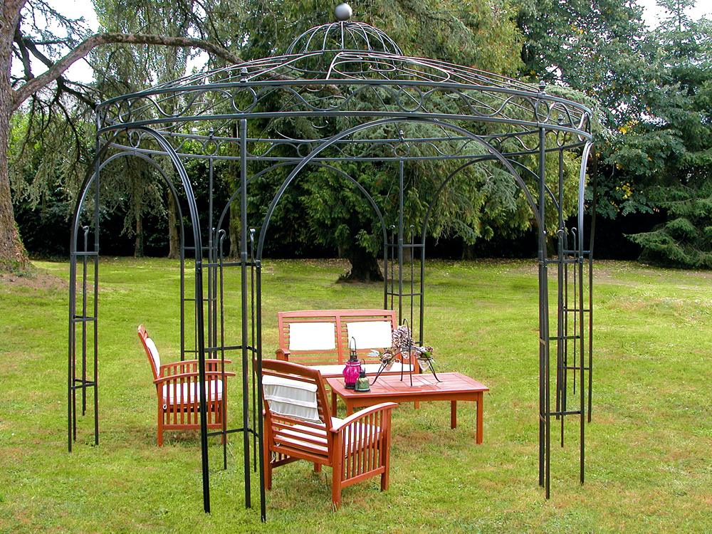 tonnelle m tal concerto x x m 33641. Black Bedroom Furniture Sets. Home Design Ideas