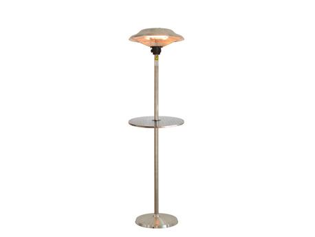 """Parasol halogène sur pied avec table """"Wavelux"""" - 2100 W"""