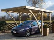 """Carport voiture """" Milano Uno """" - 16 m² - 5.10 x 3.20 x 2.59 m."""
