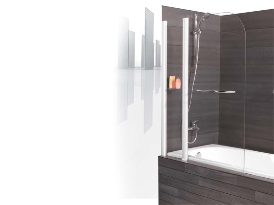 pare baignoire ca man xxl 2 volets 110 x 141 cm 21089. Black Bedroom Furniture Sets. Home Design Ideas