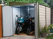 Garage métal - 5.43 m² - 2.80 x 1.94 x 2.10 m