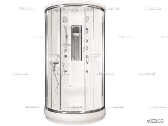 cabine de douche int grale atlantic pleasure 99 x 99 x 215 cm 21462. Black Bedroom Furniture Sets. Home Design Ideas