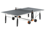 "Table ping pong extérieur ""Crossover 150 S"" - 274 x 152 x 76 cm - Gris"