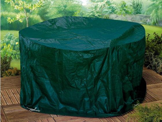 Housse premium pour salon de jardin - rond - Ø 188 x 89 cm 22496 22498