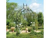 "Arche jardin ""Arch Gothic Deluxe"" - 2.95 x 1.4 m - Noir"