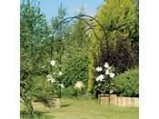 """Arche jardin """"Easy Arch"""" - 2.4 x 1.4 m - Noir"""