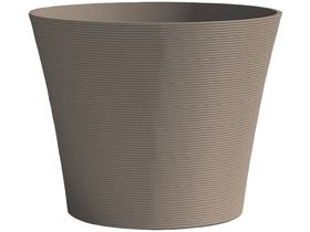"Pot à fleurs ""Green Care Sense"" - 12 L - Ø 30 x H.27 cm - Taupe"