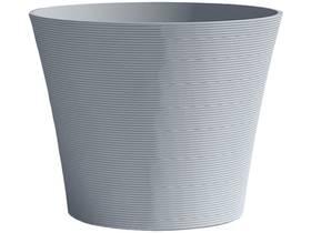 "Pot à fleurs ""Green Care Sense"" - 12 L - Ø 30 x H.27 cm - Bleu gris"