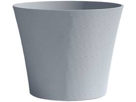 "Pot à fleurs ""Green Care Sense"" - 28 L - Ø 40 x H.34 cm - Bleu gris"