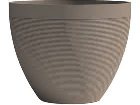 "Pot à fleurs ""Green Care Impact"" - 14 L - Ø 30 x H.26 cm - Taupe"
