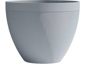 """Pot à fleurs """"Green Care Impact"""" - 14 L - Ø 30 x H.26 cm - Bleu gris"""