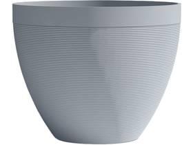 """Pot à fleurs """"Green Care Impact"""" - 28 L - Ø 40 x H.31 cm - Bleu gris"""