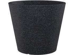"""Pot à fleurs """"Roto Coneo"""" - 46 L - Ø 49 x H.39 cm - Noir"""