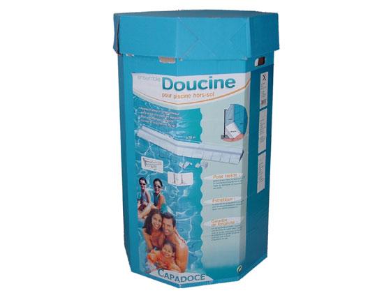 traitement d 39 eau doucines pour piscine hors sol capadoce 20 ml 26 doucines 23969. Black Bedroom Furniture Sets. Home Design Ideas