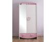 """Armoire """"Anastasia"""" - 89 x 50 x 185 cm - 2 portes - Blanc perle"""