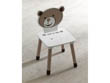"Chaise enfant ""Ted & Lily"" - Chocolat/beige"