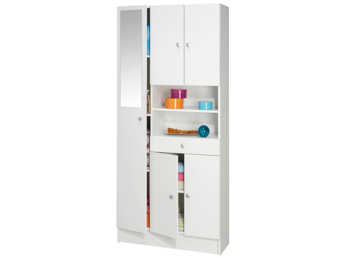 meuble de salle de bain colonne imbattable 5 portes 1 tiroir 68594. Black Bedroom Furniture Sets. Home Design Ideas