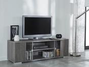 """Meuble TV """"Namur"""" - 139 x 41.7 x 43.4 cm - Chêne prata"""