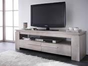 "Banc TV ""Segur"" - 140 x 42 x 47 cm - Chêne champagne"