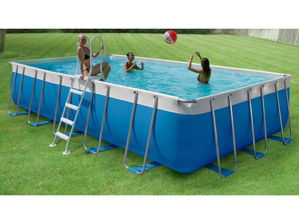 Piscine autoportante tubulaire allong e prestige 550 5 for Construction piscine 40
