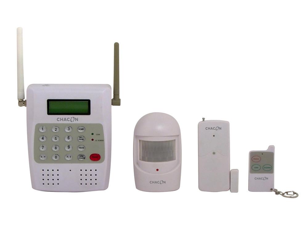 kit alarme gsm sans fil 61640. Black Bedroom Furniture Sets. Home Design Ideas