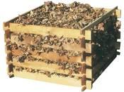 Composteur en bois - 480 litres